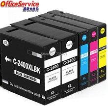 5X Compatibele Inkt Cartridge PGI 2400 Pgi2400 Xl Voor Canon Maxify IB4040 MB5040 MB5340 MB5140 MB5440 IB4140 Inkjet Printer