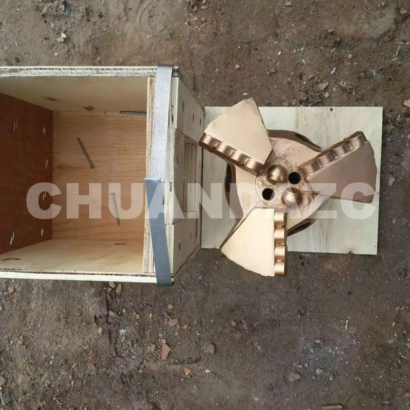 Factory Outlet 151mm three wing drag bits,PDC drag bit for mining drilling,water well drilling bit как открыть розничный магазин