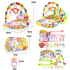 Image 5 - Baby Gym Tapis Puzzles Mat Educational Rack Toys Baby Music Play Mat With Piano Keyboard Infant Fitness Carpet Gift For Kids