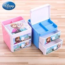 Дисней замороженная маржа приемная коробка для учеников начальной школы детского сада многофункциональный ящик пенал для мальчиков и девочек