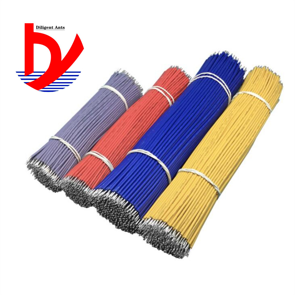 100PCS/LOT Tin-Plated Breadboard PCB Solder Cable 26AWG 8cm Fly Jumper Wire Cable Tin Conductor Wires 1007-26AWG Connector Wire