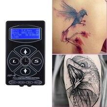 Профессиональный источник питания для татуировки, обновленная тату машина hp-2, интеллектуальный цифровой ЖК-дисплей, набор для макияжа, Двойной источник питания для тату, набор