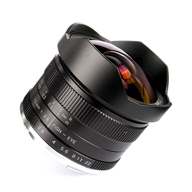 7artisans 7.5mm f2.8 lentille fisheye 180 APS-C Manuel Objectif Fixe pour Canon EF-M Appareil Photo Hybride EOS-M M2 M3 M5 M6 M10 M50 M1007artisans 7.5mm f2.8 lentille fisheye 180 APS-C Manuel Objectif Fixe pour Canon EF-M Appareil Photo Hybride EOS-M M2 M3 M5 M6 M10 M50 M100