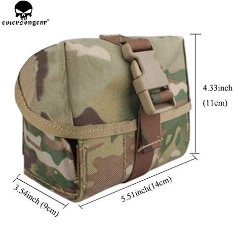 molle granada bolsa para 40mm airsoft militar em8509