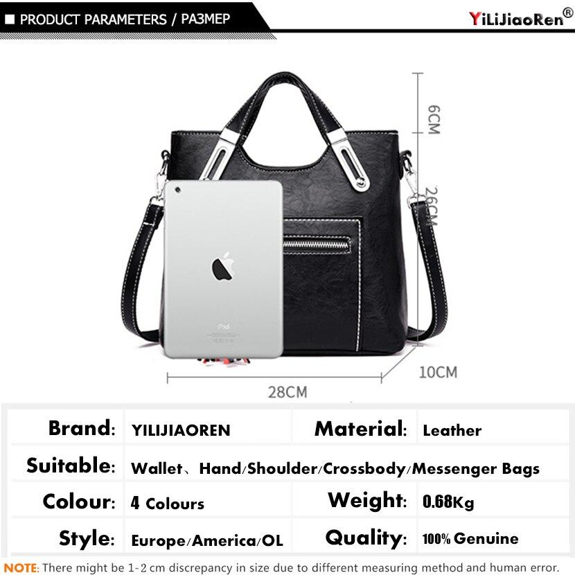 Fashion Tassel Ladies Hand Bags Women Leather Handbags Large Capacity Tote Luxury Handbags Women Bags Designer Shoulder bag 2019 in Top Handle Bags from Luggage Bags