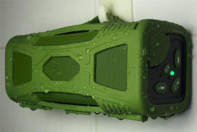2015 ROSOTE Waterproof for Shower Portable 10W Super Bass HI-FI wireless waterproof Bluetooth 4.0 Speaker