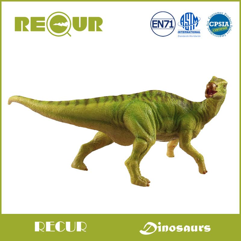 Recur Toys jurassic Iguanodon Dinosaur model Highly Detail Model Hand Painted PVC Dinosaur Figures Toy Collection Xmas Gift recur toys high quality horse model high simulation pvc toy hand painted animal action figures soft animal toy gift for kids