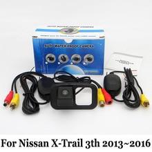 Автомобиля Камера Заднего Вида Для Nissan X-Trail 3-й 2013 ~ 2016/RCA AUX проводной Или Беспроводной/HD Ночного Видения Заднего Вида Парковочная Камера