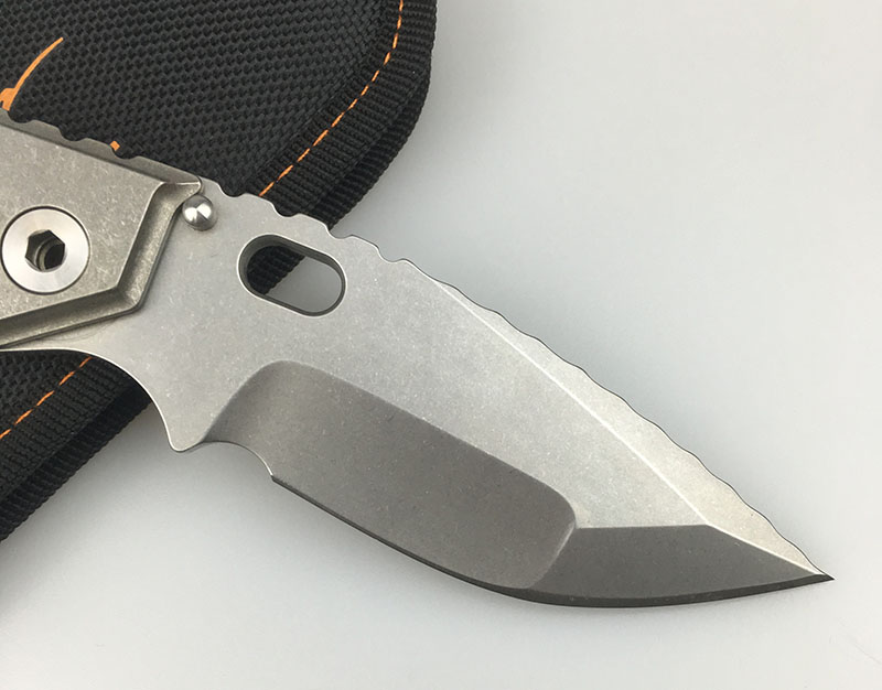 LEMIFSHE MSC SMF XL copper gasket folding knife D2 blade TC4 titanium alloy handle tactical survival fruit knife EDC tool in Knives from Tools