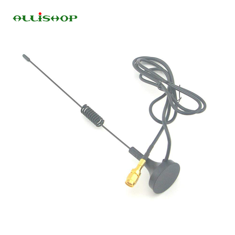 1090Mhz Antenna MCX Plug Connector 2.5dbi gains ADS-B Aerial with Magnet Base RG174 1M+MCX Female to SMA male Adapter Connector lots of 5pcs active car gps antenna aerial with sma connector