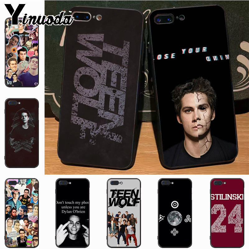 Yinuoda American TV series Teen Wolf Colorful Cute Phone Accessories Case for iPhone 8 7 6S Plus X xs max xr 5S SE 5C case Cover