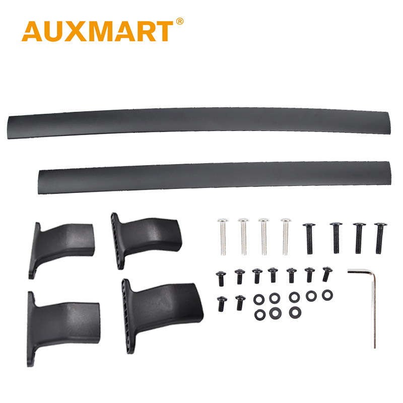 Auxmart Car Roof Rack Cross Bar for Honda Odyssey 2011~2017 Top Roof Boxes 44 Auto Load Cargo Luggage carrier bike rack 132LBS partol car roof top cross bars roof rack cross bars rail carrier 150lbs aircraft aluminum for mazda cx 7 2007 2008 2009 2010 12
