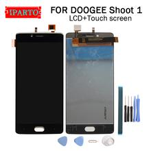 5 5 cal DOOGEE strzelać 1 wyświetlacz LCD + ekran dotykowy Digitizer zgromadzenie 100 oryginalny nowy wyświetlacz LCD + ekran dotykowy Digitizer dla strzelać 1 + narzędzia tanie tanio iParto 1920x1080 Pojemnościowy ekran for DOOGEE SHOOT 1 5 5 inch DOOGEE SHOOT 1 1920x1080 HD 5 5 inch Original for DOOGEE SHOOT 1 Dispaly Touch Screen