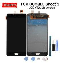 5.5 calowy wyświetlacz DOOGEE SHOOT 1 LCD + montaż digitizera ekranu dotykowego 100% oryginalny nowy LCD + dotykowy Digitizer do strzelania 1 + narzędzia