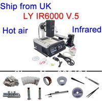 Free Shipping From UK To EU No Tax LY IR6000 V 5 Hot Air And Infrared