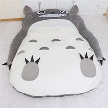 1.7×2.2m My Neighbor Totoro Tatami Sleeping Double Bed Big&Large Beanbag Sofa For Audlt Warm Cartoon Totoro Tatami Mattress