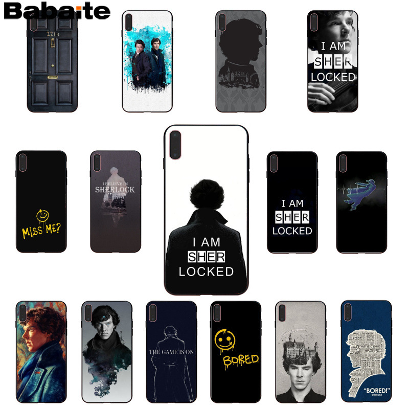 Phone Bags & Cases Babaite 221b Sherlock Holmes Novelty Fundas Phone Case Cover For Iphone X Xs Max 6 6s 7 7plus 8 8plus 5 5s Se Xr Durable Modeling Half-wrapped Case