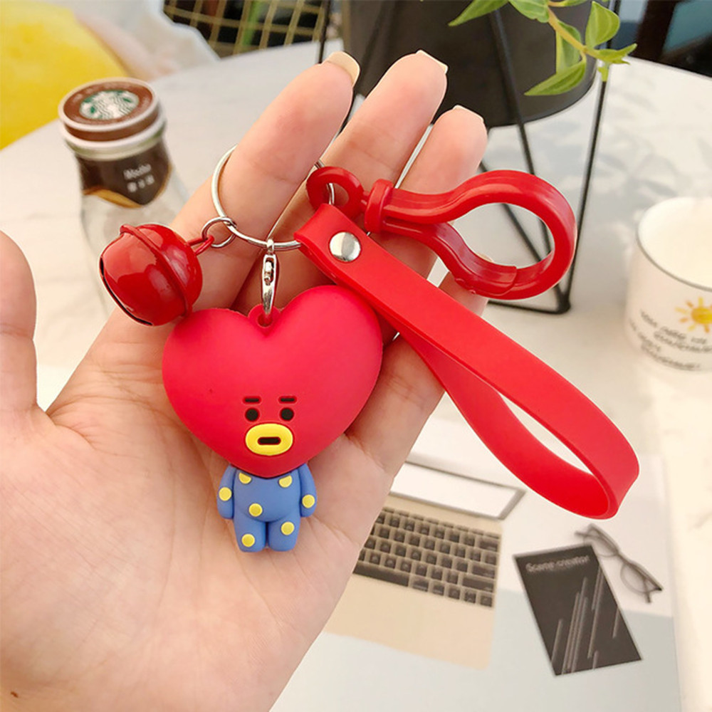 Persevering Bangtan Boys Bts Bt21 Soft Plush Keychain Toy Kids Fans Collection Kawaii Stuffed Pendant Doll Tata Van Cooky Chimmy Shooky Koya Toys & Hobbies