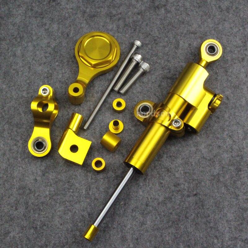 Для Ямаха YZF-R6 и R1 и полный комплект мотоциклов рулевой демпфер Стабилизатор с кронштейном
