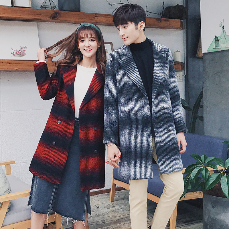 2018 Herbst Und Winter Neue Jugend Mode Liebhaber Spleißen Lose Lange-ärmel Koreanische Version Der Trend Alle Zusammen Windjacke Der Preis Bleibt Stabil