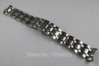 24mm T035627A T035614 New Watch Parts Male Solid Stainless steel bracelet strap Watch Bands For T035