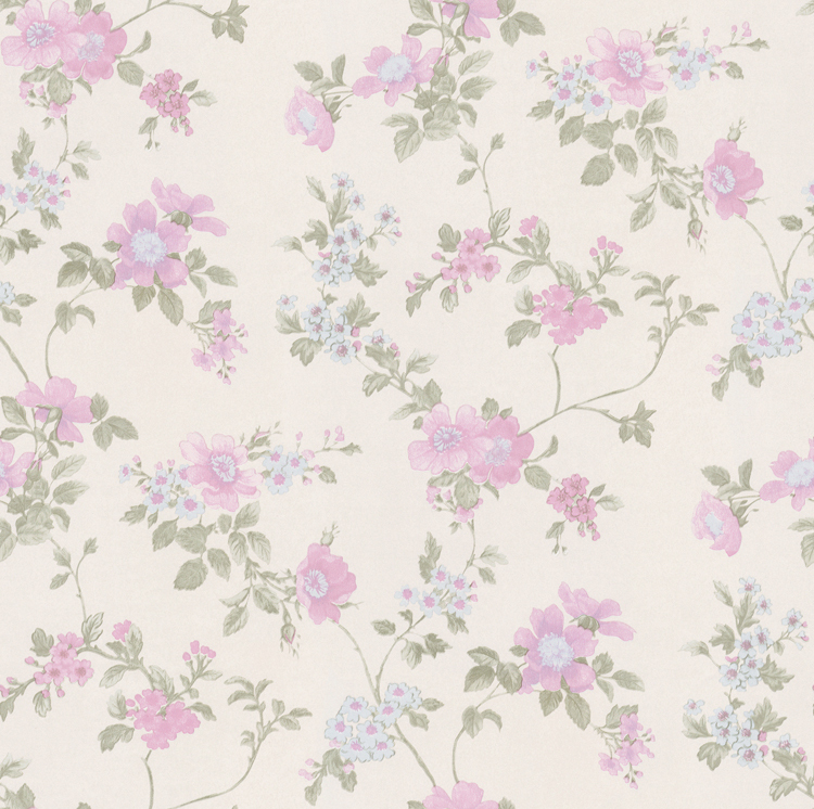 201507 Cheap Price Amercian Countryside Vintage Flower Design Non