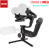 Zhiyun Crane 3 LAB 3 Axis Handheld Gimbal Stabilizer Wireless 1080P FHD Image Transmission for DSLR Camera PK DJI Ronin S