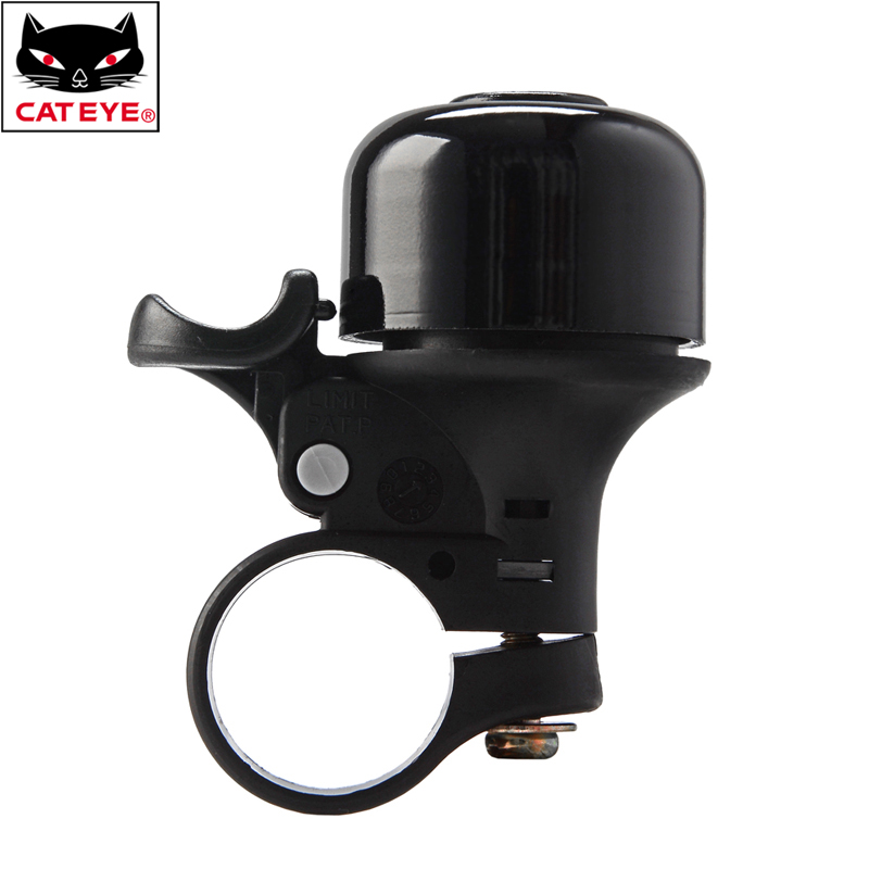 CATEYE PB-800 Aluminum Horn Bike Bicycle Handlebar Ring Bell Black 22.2mm
