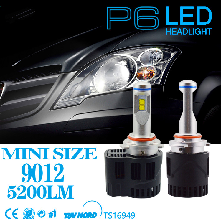 1 Set Canbus 9012 Led Car Bulbs High Low MZ 55W 5200LM Strong Headlight Replace Free Shipping Auto Conversion Headlight Kits fit byd chery lifan mg led headlbulbs h4 h7 h1 h11high low beam auto bulbs led 6000k canbus external light automobiles headlight