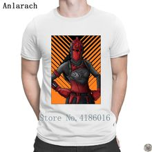 Fortnited Red Knight Skin Drawing t-shirts hip hop Creature Novelty Clothes t shirt for men trendy plus size Spring Classic