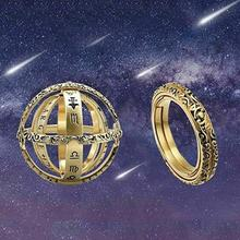 Cosmic Finger Ring Astronomical Sphere Ball Ring Couple Lover Jewelry Gifts Stainless Steel Ring Unitsex Rings Lot high quality astronomical ball cosmic rings gold silver universe constellation finger ring couple lovers creative jewelry gifts