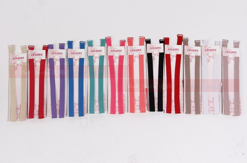 1 5cm Candy color double shoulder adjustable shoulder strap pectoral girdle neon color elastic font b