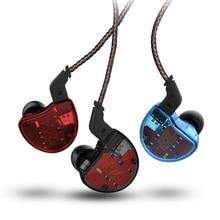 KZ ZS10 Earphones 4BA+1 DD Hybrid In Ear Headphone