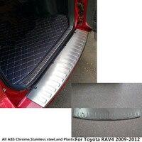 Стальная гарнитура для кузова Нержавеющаясталь внешний задний бампер накладка Рамка светильника педаль литье 1 шт. для Toyota RAV4 2009 2010 2011 2012