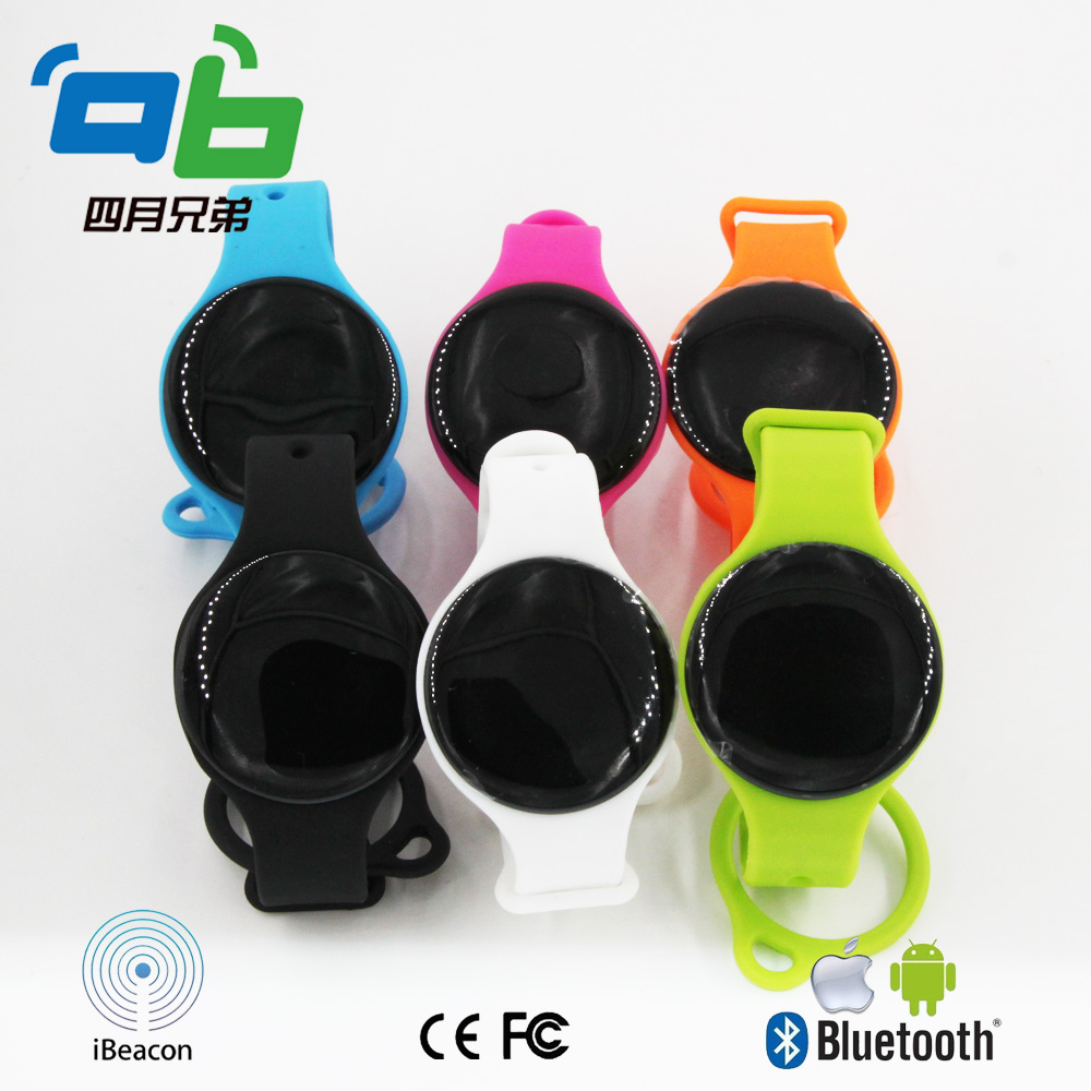 Wristband Ibeacon 4.0 BLE Bluetooth Module Dialog 14580 Beacons bluetooth 4 0 dialog 14580 chipset high quality wristband ibeacon module