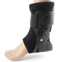בטיחות קרסול רגל תחבושת תמיכת כושר ריצת הגנה שחור להקות אלסטיים קרסול Brace משמר ספורט