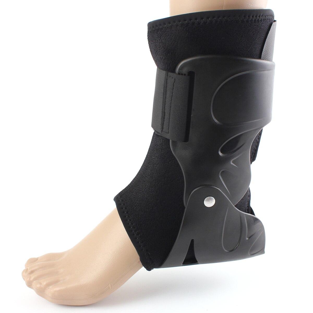 Prix pour Sécurité Cheville Soutien Gym Exécution Protection Noir Pied Bandage Élastique Cheville Brace Bandes Garde Sport