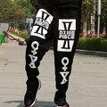 XXL -8XL Plus Size HIPHOP Brand men pants Loose Cotton hip hop pants Men (XXL 3XL 4XL 5XL 6XL 7XL 8XL)