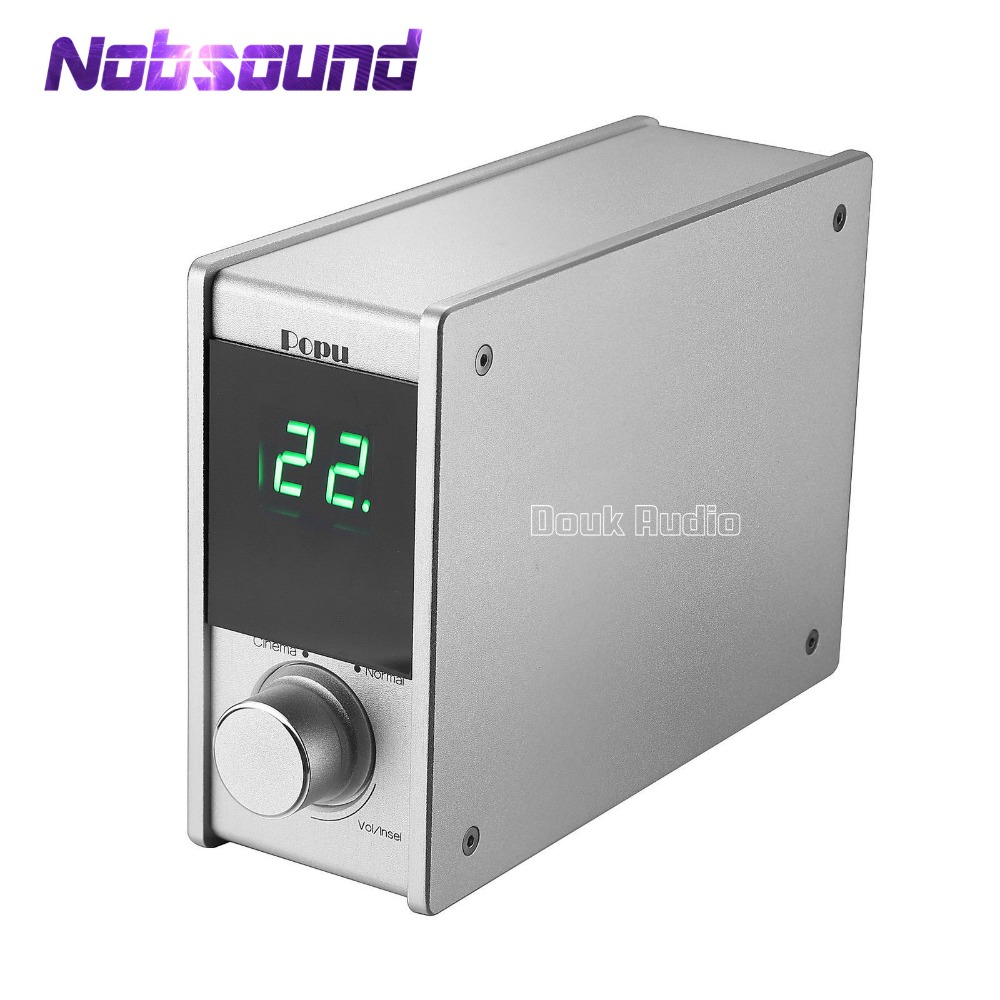 Nobsound Pure Digital Power Amplifier Stereo Class D HiFi Amp 80W*2 With USB DAC Audio Decoder Using the AFITPE Circuit 10pcs lot pcm1774rgpr bb1774 1774 pcm1774 93db snr low power stereo dac with hp amplifier s w control