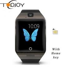 บลูทูธandroid smart watch apro 8กิกะไบต์สนับสนุนซิมการ์ดnfcกับกล้องสำหรับA Ndroid p honeชมPKสมาร์ทนาฬิกาDZ09 GT08 Q18