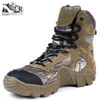 Outdoor Nylon Desert Laarzen De AMERIKAANSE Militaire Aanval Tactische Laarzen Ademende Dragen Slip Mannen Toevallige Reizen Werk Boot Comfortabele