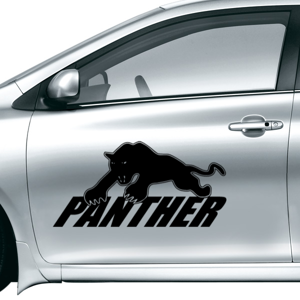 Fashion panther car sticker waterproof reflective decal vinyl custom made your car diy car decoration in wall stickers from home garden on aliexpress com