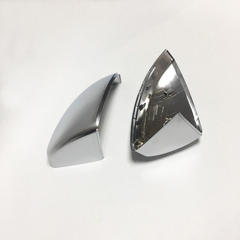 1:1 замена серебряных зеркальных крышек для Audi TT 8 S 2014 up ABS Матовый хром Автомобильные Боковые зеркальные крышки отделка