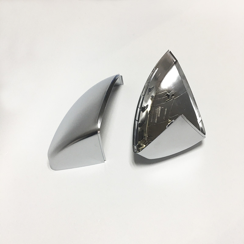 1:1 Replacement Silver Mirror Caps for Audi TT 8S 2014 up ABS Matt Chrome Car Side Mirror Covers Trim