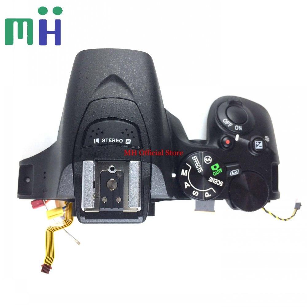 For Nikon D5500 Top Cover Top Case with Button Flex Flash Unit Camera Replacement Repair Part