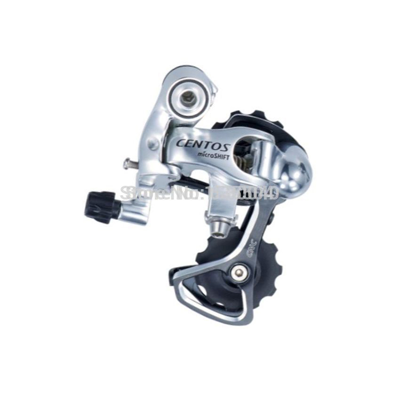 microSHIFT 10 Speed Rear Derailleur short cage Road Bicycle Bike Derailleur Compatible for Shimano 10S Rear