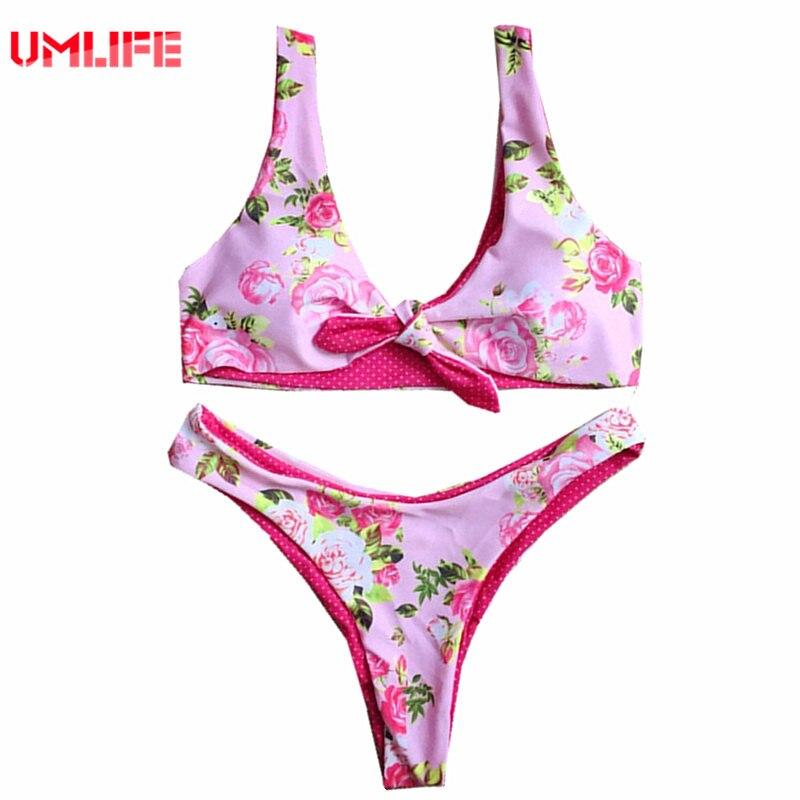Для женщин Купальники для малышек розовый цветочный комплект бикини brasil Мода молодых младших Обувь для девочек Купальник Трусики бикини ... ...
