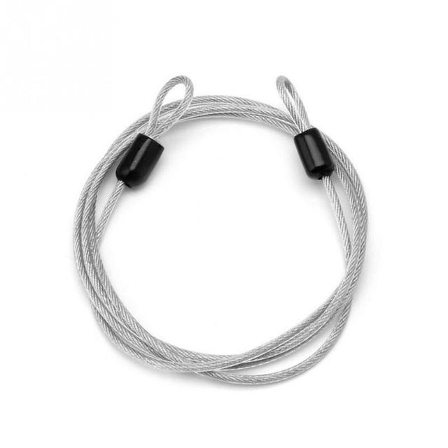 Bike Cable Lock >> Us 1 87 Cycling Security Loop Cable Lock Bicycle Bikes Scooter Guard U Lock Bike Bicycle Cable Lock Steel Wire Rope Metal Lock In Bicycle Lock From