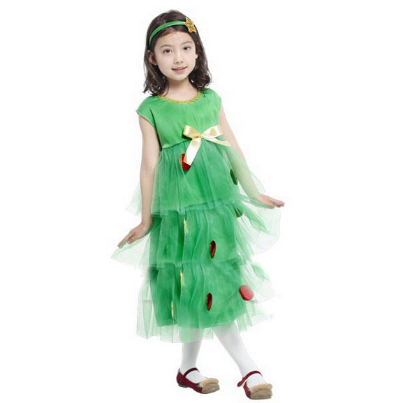 Free Shipping!!nifty Naughty Girl Christmas Tree Dress, All Saints Orgy Party, Stage Performances, Fancy Clothes To Enjoy High Reputation In The International Market