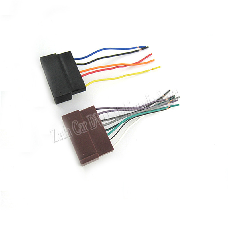 Top Quality Car Audio Stereo Wiring Harness Adapter Plug For Ford Rhaliexpress: Ford Wiring Harness Adapter At Gmaili.net